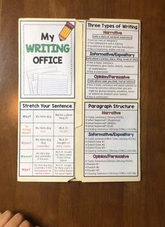 These writing offices will transform your students' independence and writing skills. There are a variety of helpful anchor charts in both sets. Use exclusively for primary or for upper elementary. Writing Lessons, Teaching Writing, Writing Skills, Writing Process, Teaching Grammar, Social Skills Lessons, Whole Brain Teaching, Primary Teaching, Teaching Language Arts