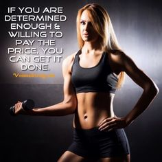 If you are determined enough & willing to pay the price, you can get it done.  vemma.myvoffice.com/vervetruckers  #HealthTips