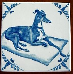 Greyhound tile