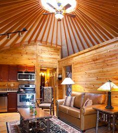 Inside Yurt Bluegreen Resorts Vacation Pinterest