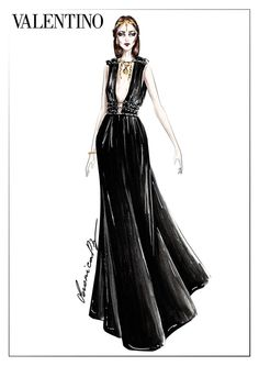 Valentini Fashion Illustration