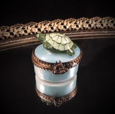 A personal favorite from my Etsy shop https://www.etsy.com/listing/257625198/vintage-limoges-box-limoges-trinket-box