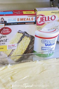 Semi-Homemade Tres Leche Cake