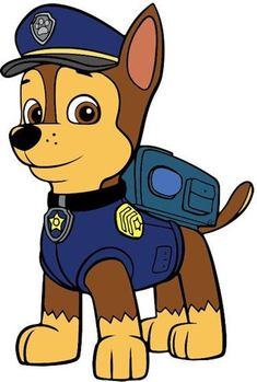 Chase is on the case! Use this SVG to create decals, clothing ect. Paw Patrol Shirt, Paw Patrol Cake, Paw Patrol Party, Paw Patrol Birthday Card, Personajes Paw Patrol, Imprimibles Paw Patrol, Cumple Paw Patrol, Paw Patrol Coloring, Baby Kind