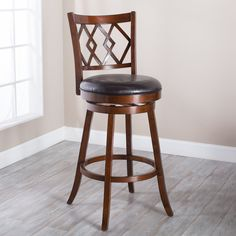 Belham Living Reno Extra-Tall Swivel Bar stool - With a generous seat and extended height, the Belham Living Reno Extra-Tall Swivel Barstool is a great way to complement any bistro table or high ...