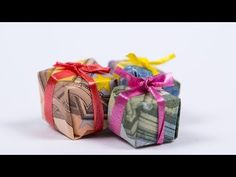 Cash Gift Idea, Handbag Fold: Banknotes for Birthday or Sho … - DIY Crafts for Kids Winter Crafts For Toddlers, Easy Toddler Crafts, Diy Crafts For Kids, Easy Crafts, Origami Tutorial, Diy Tutorial, Craft Gifts, Diy Gifts, Apartment Decoration