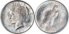 Peace Dollars Early Silver Dollars US Coin