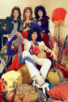 Queen Freddy Mercury Band Rare Poster by VintagePosterPlace