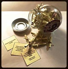Barattolo dei PENSIERI POSITIVI - Idea Regalo - Frasi Motivazionali - Aforismi - Medicina per l'Anima - Bomboniere - Etc. di TheEmporiumOfWonders su Etsy