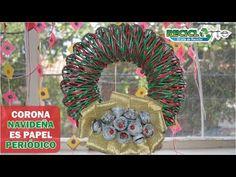 DIY ♻ GUIRNALDA ♻ CORONA NAVIDEÑA ♻ CHRISTMAS WREATH