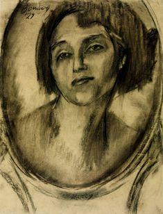 David Bomberg 'Kitty', 1929 © Tate