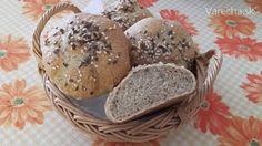 Kváskové žemle - kaiserky (fotorecept) Ale, Muffin, Bread, Breakfast, Food, Kochen, Morning Coffee, Muffins, Meal