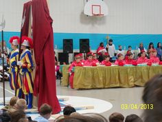 What a wonderful way to bring the Church to life for younger children!