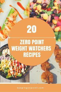 Healthy Weight 20 (MORE) Zero point Weight Watchers recipes. Weight Watcher Dinners, Plats Weight Watchers, Weight Watchers Diet, Weight Watchers Freezer Meals, Weight Watchers Vegetarian, Weight Watchers Smart Points, Healthy Detox, Healthy Drinks, Healthy Weight