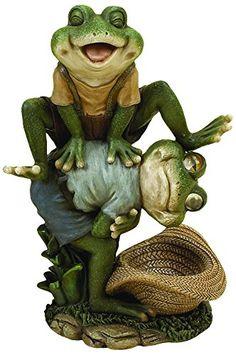 Cats Garden Statues : Frog Garden Sculptures And Frog Garden Decor | Decor  Statues | Pinterest | Cat Garden, Garden Sculptures And Gardenu2026