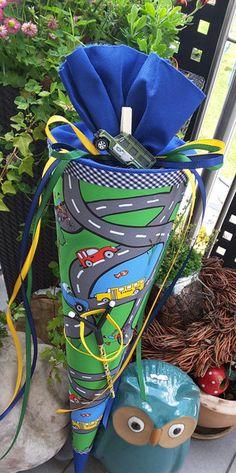 Schultüten - Auto & Strassen - Schultüte/ Zuckertüte - ein Designerstück von XBergDesign2 bei DaWanda