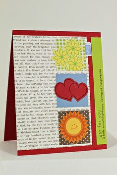 Card by Erin Lincoln for Papertrey Ink (March 2012)