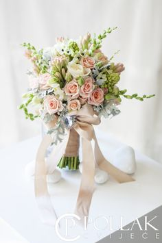 Princess wedding bouquet