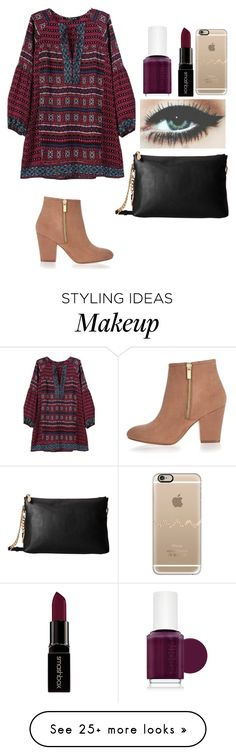 """"" by soccerlover14 on Polyvore featuring River Island, MICHAEL Michael Kors, Essie, Smashbox, Casetify, women's clothing, women's fashion, women, female and woman"