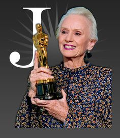 J is for Jessica Tandy.  A classy lady and one of my all time favorite actresses.