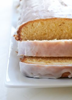 lemon loaf cake with lemon glaze - this cake was FABULOUS! So good I'm making two more tonight. Love, love, love!! <3 ~Michele