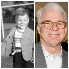 Steve Martin Young And Old