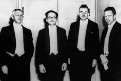 Бунин, Шредингер, Дирак, Гейзенберг. Вручение Нобелевской премии 1933 года.