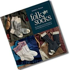 Love this sock book. So many patterns, so little time!