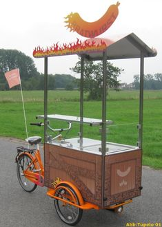 Mobiles, Le Cargo, Food Cart Design, Food Truck, Bike, Tents, Home, Blue Prints, Bicycle