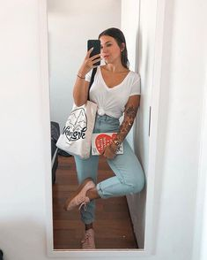 Outfits that will not let the hangover ruin your weekend Source by Outfits verano Curvy Outfits, Fall Outfits, Summer Outfits, Casual Outfits, Fashion Outfits, Womens Fashion, Fashion Trends, Look Jean, Look Office