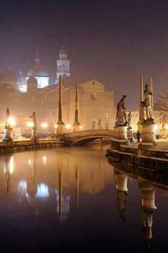 Padua, Italy...Foggy Night!