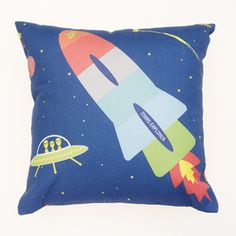 Mars Explorer Square Cushion by Love JK