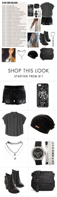 """""""Hospital For Souls - BMTH"""" by forgetful-insomniacs ❤ liked on Polyvore featuring VILA, Monki, Wet Seal, Religion Clothing and Chico's"""