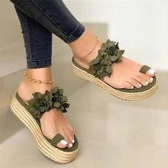 Affiliate System - Categories - Shoes - Women Sandals Plus Size Wedges Shoes For Women High Heels Sandals Summer Shoes 2020 Flip Flop Chaussures Femme Platform Sandals Wedge Flip Flops, Flip Flop Sandals, Sexy High Heels, Fashion Slippers, Slipper Sandals, Womens Slippers, Summer Shoes, Summer Sandals, Red Sandals