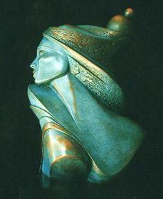 Isabelle JEANDOT - Alhambra - Sculpture - Bronze