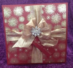 Made by Chloe Using Stamps by Chloe Magical Christmas Stamps by Chloe Starburst Background