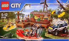 LEGO City Police Crooks' Hideout (Discontinued by manufacturer) Aha! The police have located a band of crooks offloading stolen goods at their secret hideout Lego For Sale, Lego For Kids, Kids Boys, Lego City Police, Legos, 4x4, Outdoor Toys, Toys Online, Lego City
