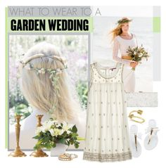"""""""What To Wear: Garden Wedding"""" by bjigg ❤ liked on Polyvore"""