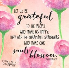 Gratitude to those who make our souls blossom. #gratitude #friends For the app of wallpapers ~ www.everydayspirit.net xo