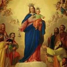 Oración a la Virgen María Auxiliadora para el hogar.
