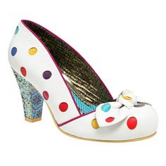 Polka dots and glitter, I like these. Irregular Choice.