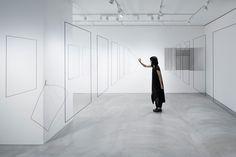 nendo's 'Un-Printed Material' Exhibition in Tokyo.