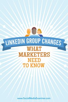 Are you active on LinkedIn? LinkedIn groups have been redesigned to make…