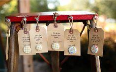 DIY rustikal Hochzeitskarten Einladungen Kraftpapier Hochzeitsdeko und Hochzeitsgeschenken Ideen DIY Originelle und Einzigartige Tischkarten...