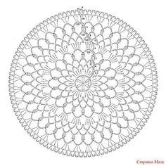 ISSUU - Crochet lace by vlinderieke Crochet Dreamcatcher, Crochet Mandala, Crochet Motif, Crochet Doilies, Crochet Lace, Knitting Patterns, Crochet Patterns, Crochet Pillow Pattern, Crochet Potholders