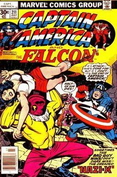 Captain America Vol 1 211  Captain America Vol 1 210. Por Jack Kirby, John Verpoorten y Mike Royer. #CapitánAmérica #JackKirby
