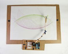 Arduino controlled art-robot.