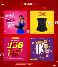 Social Media 2018 on Behance Social Media Banner, Social Media Template, Social Media Content, Social Media Design, Social Media Marketing, Graphic Design Posters, Graphic Design Inspiration, Banners, Creative Advertising