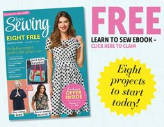 Beginner Dressmaking Guide with 8 FREE sewing pattern projects! Baby Sewing Tutorials, Sewing Patterns For Kids, Sewing Hacks, Free Tutorials, Sewing Tips, Sewing Projects, Dress Making Patterns, Bag Patterns To Sew, Baby Dungarees Pattern