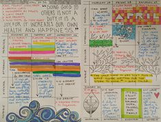 DIY scheduling journal on Make It Artsy